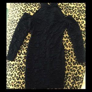 Vintage cold shoulder dress